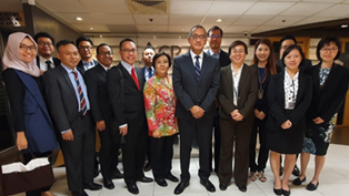 Visit by Ministry of Law & Human Rights, Indonesia